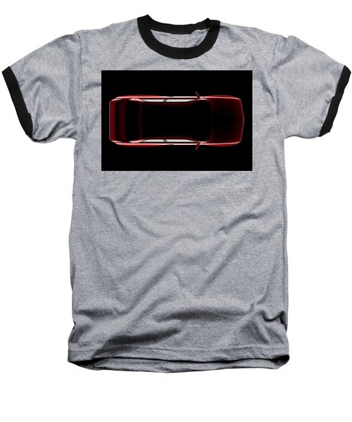 Bmw M3 E30 - Top View Baseball T-Shirt