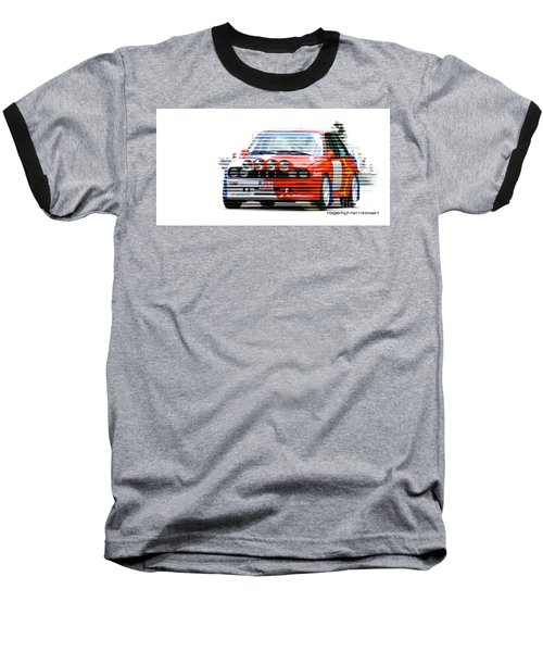 Bmw M3 Group A Baseball T-Shirt by Roger Lighterness