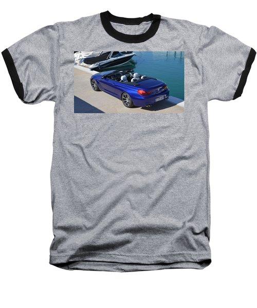 Bmw M6 Convertible Baseball T-Shirt