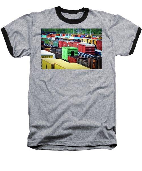 Bnsf Lindenwood Yard Baseball T-Shirt