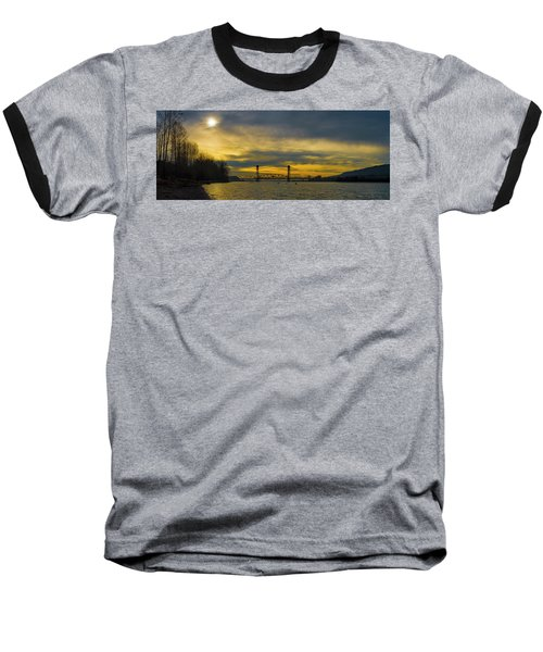 Bnsf Railroad Bridge 5.1 Baseball T-Shirt