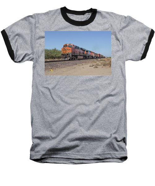Baseball T-Shirt featuring the photograph Bnsf7890 by Jim Thompson