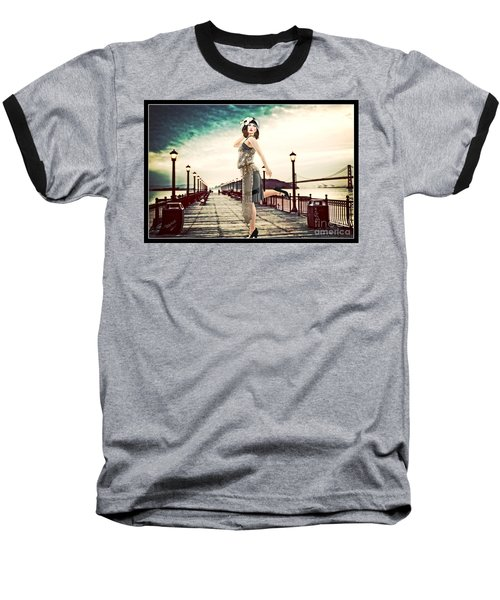 Boardwalk 1920 Baseball T-Shirt