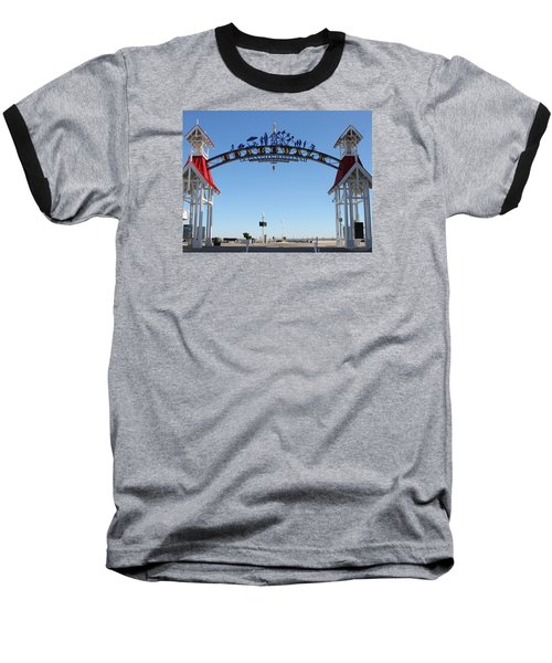 Boardwalk Arch At N Division St Baseball T-Shirt