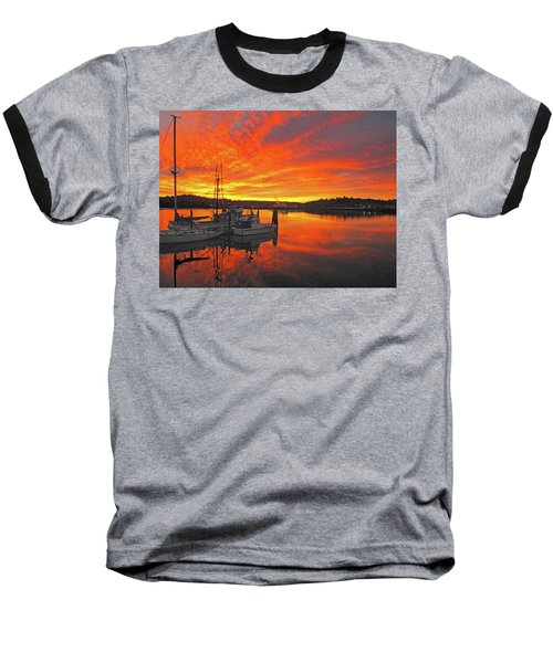 Boardwalk Brilliance With Fish Ring Baseball T-Shirt