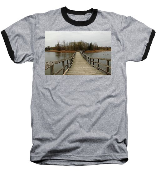 Boardwalk Baseball T-Shirt by Debbie Oppermann