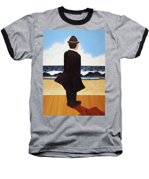 Boardwalk Man Baseball T-Shirt
