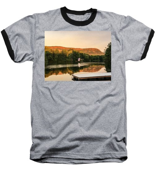 Boardwalk Sunset Baseball T-Shirt
