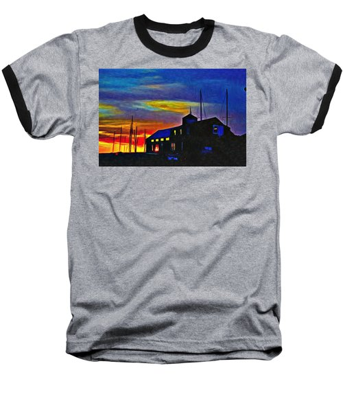 Boat Builder's Dawn Baseball T-Shirt