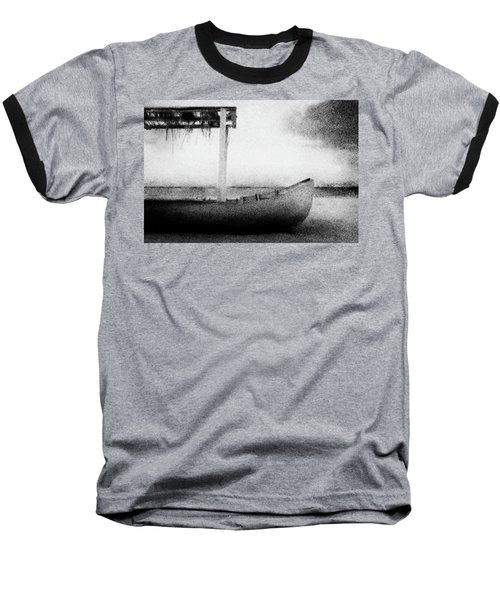 Boat Baseball T-Shirt by Celso Bressan