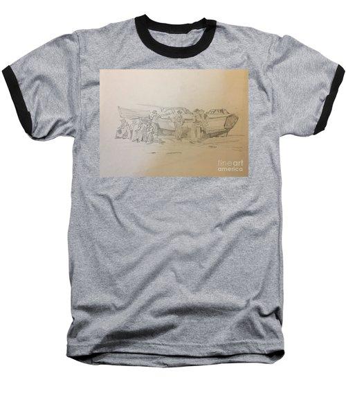Boat Crew Baseball T-Shirt