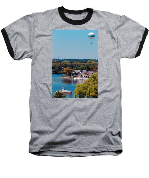 Boat House Row Baseball T-Shirt
