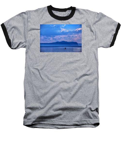 Boat In Lake Baseball T-Shirt