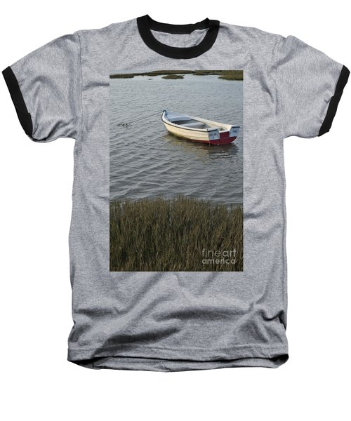 Boat In Ria Formosa - Faro Baseball T-Shirt