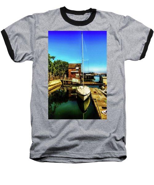 Boat Landing P O C Baseball T-Shirt by Joseph Hollingsworth