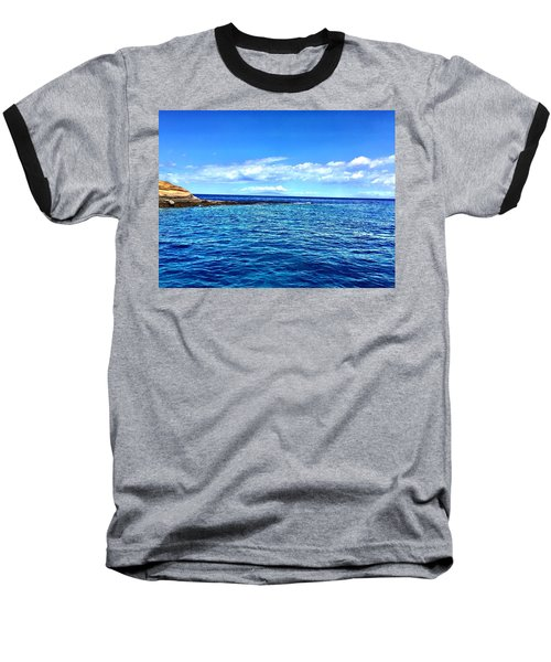 Boat Life 1 Baseball T-Shirt by Michael Albright