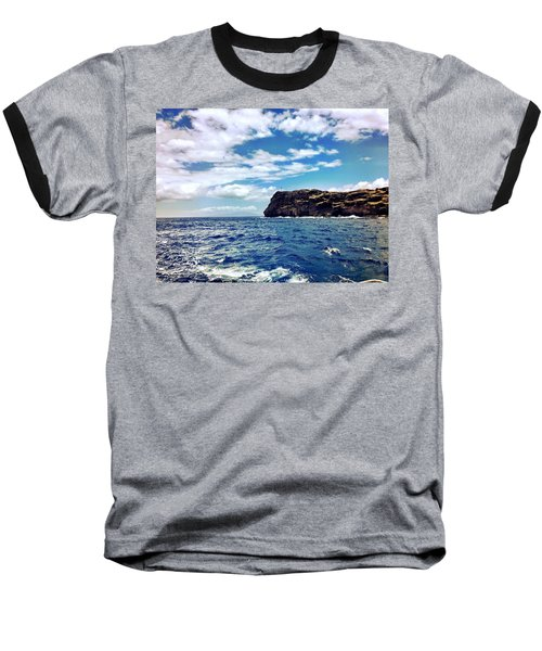 Boat Life Baseball T-Shirt by Michael Albright