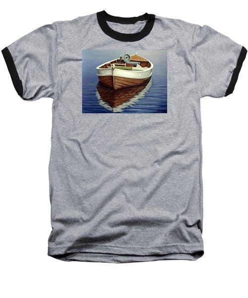 Boat Baseball T-Shirt by Natalia Tejera
