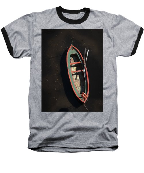 Boat Baseball T-Shirt by Silvia Bruno