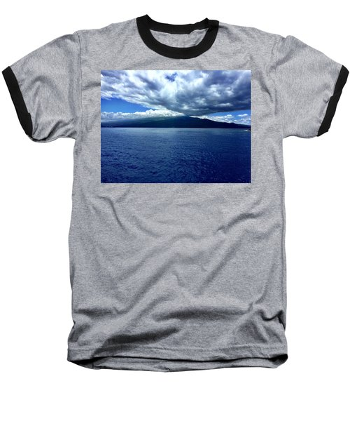Boat View 2 Baseball T-Shirt by Michael Albright