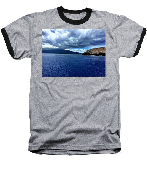 Boat View 3 Baseball T-Shirt by Michael Albright