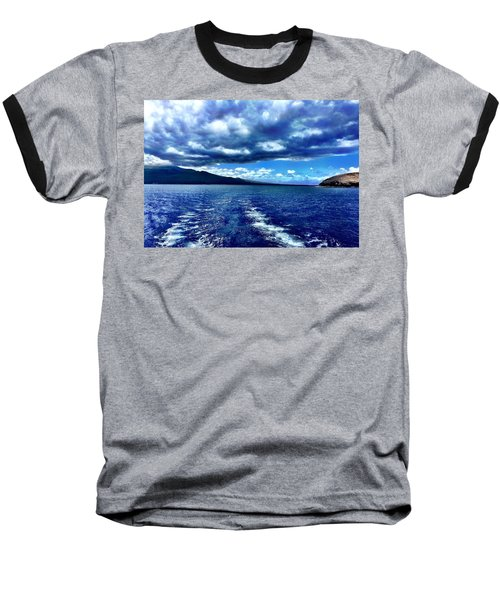 Boat View Baseball T-Shirt by Michael Albright