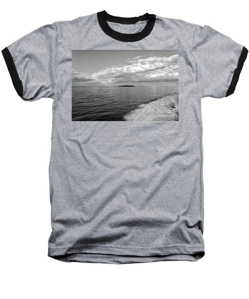 Boat Wake On Florida Bay Baseball T-Shirt