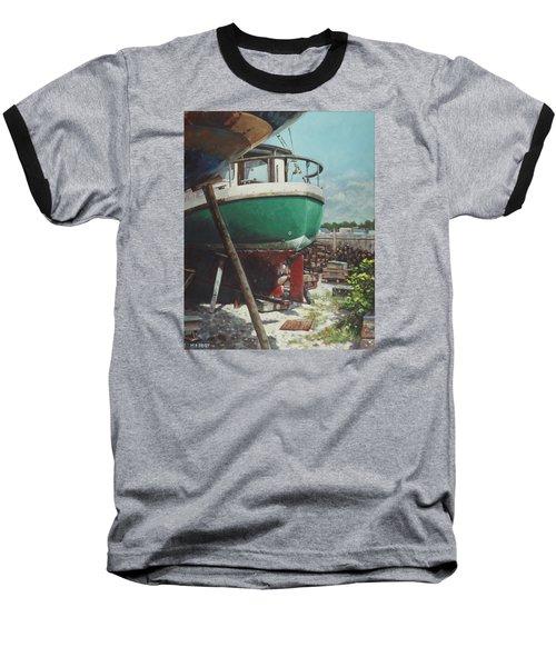 Boat Yard Boat 01 Baseball T-Shirt