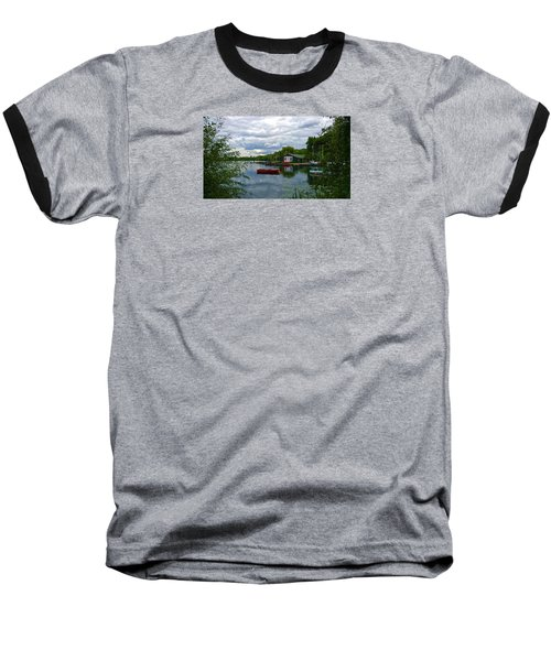 Boathouse Baseball T-Shirt by Anne Kotan