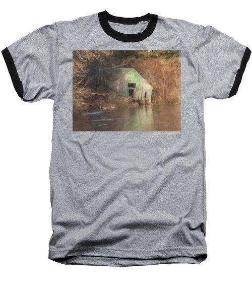 Boathouse On Solstice Baseball T-Shirt