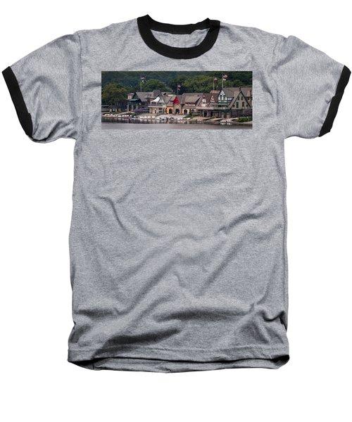 Boathouse Row Philadelphia Pa  Baseball T-Shirt