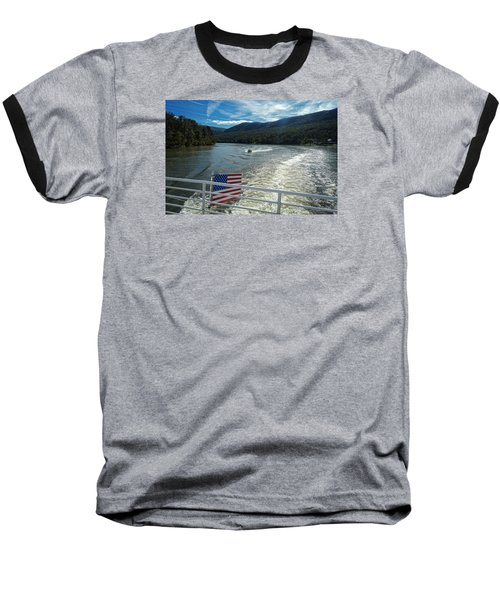Boating On The River Baseball T-Shirt