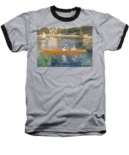 Boating On The Seine Baseball T-Shirt