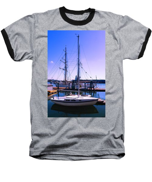 Boats And Ships Baseball T-Shirt