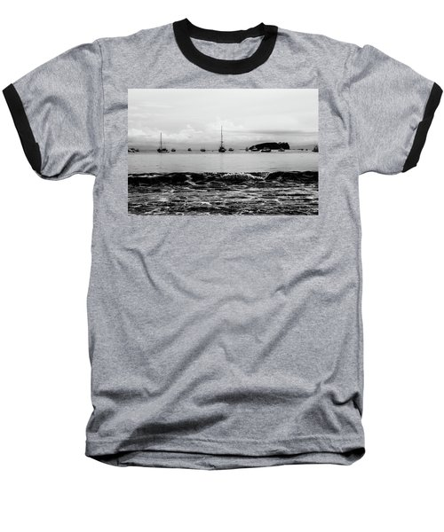 Boats And Waves 2 Baseball T-Shirt