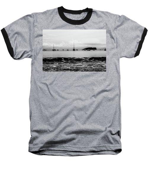 Boats And Waves 2 Baseball T-Shirt