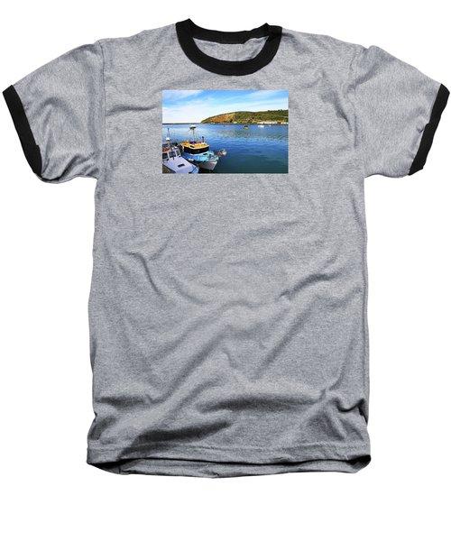 Baseball T-Shirt featuring the photograph Boats At Friendly Bay by Nareeta Martin