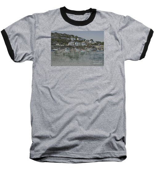 Boats At Looe Baseball T-Shirt