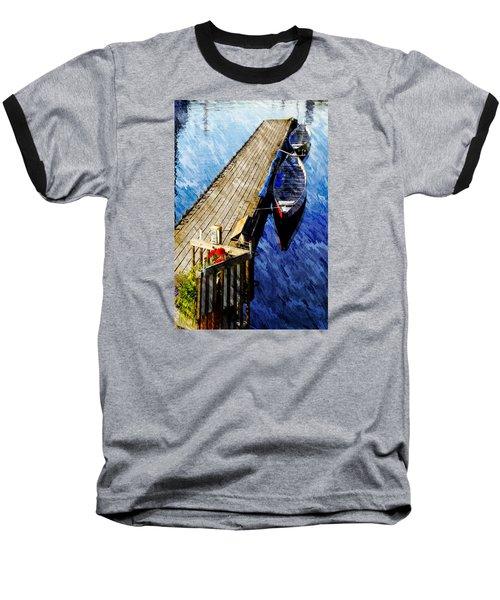 Boats At Rest Baseball T-Shirt