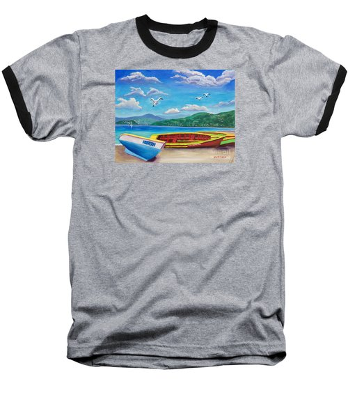 Boats At Rest Baseball T-Shirt