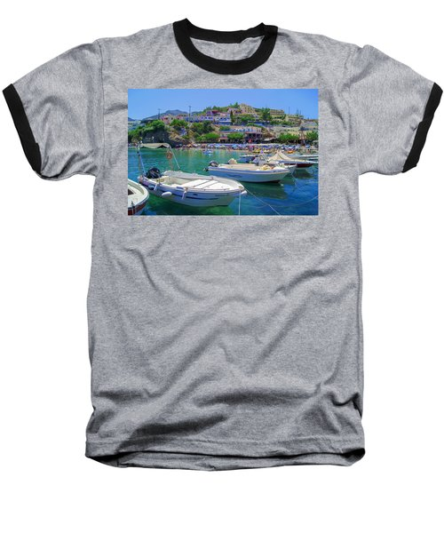Boats In Bali Baseball T-Shirt