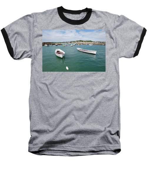 Boats In Habour Baseball T-Shirt