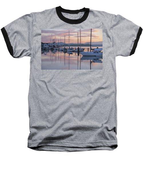 Boats In Pastel Baseball T-Shirt