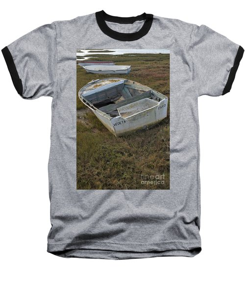 Boats In Ria Formosa Baseball T-Shirt by Angelo DeVal