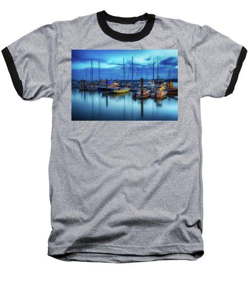 Boats In The Bay Baseball T-Shirt