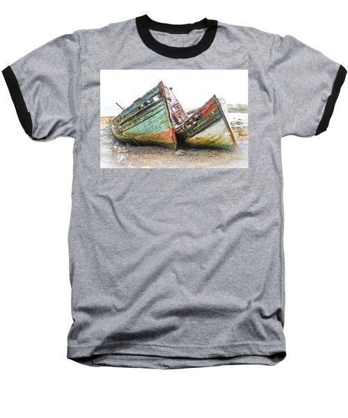 Boats Isle Of Mull 4 Baseball T-Shirt
