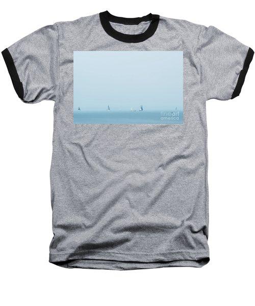Boats On The Irish Sea Baseball T-Shirt