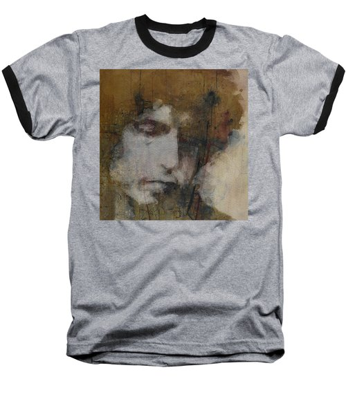 Bob Dylan - The Times They Are A Changin' Baseball T-Shirt