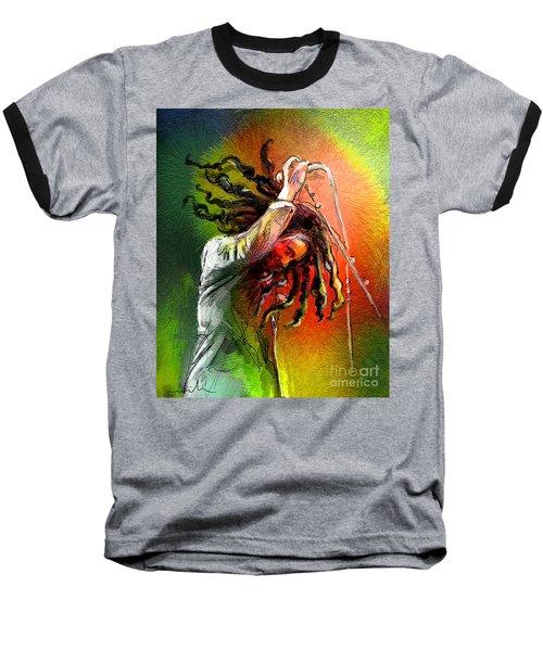 Bob Marley 07 Baseball T-Shirt