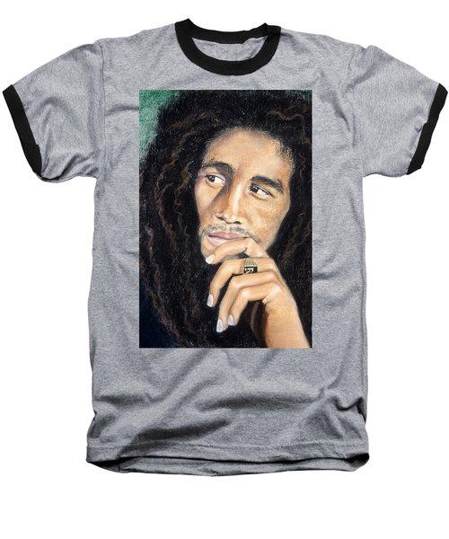 Bob Marley Baseball T-Shirt